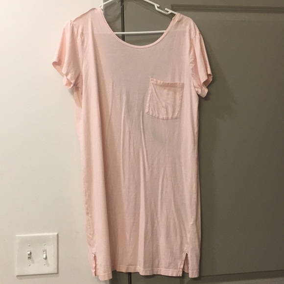 bobi Dresses & Skirts - Pink t-shirt dress